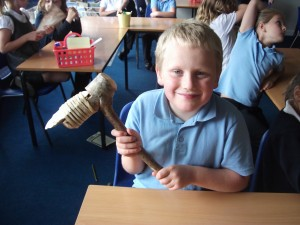 We handled real and replica Bronze Age objects